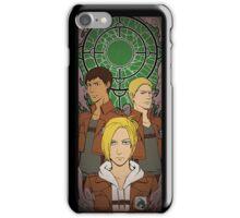 Annie, Bertholdt & Reiner iPhone Case/Skin