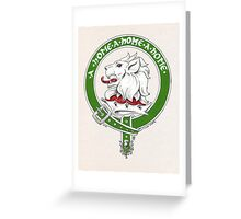 Clan Home Scottish Crest Greeting Card