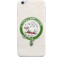 Clan Home Scottish Crest iPhone Case/Skin