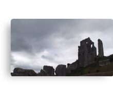National Trust, Corfe Castle Two Canvas Print