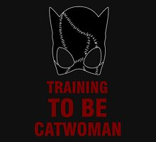 Training to be Catwoman Womens Fitted T-Shirt