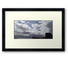 Changing Sky - Two Framed Print