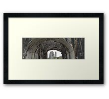 Distant Castle Framed Print