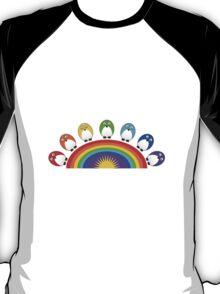 Little Cute Rainbow Birds T-Shirt