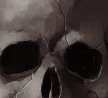 Jolly Roger Skull and Cross Bones Painting Sticker