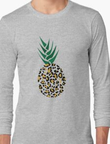 Leopard or Pineapple? Funny illusion Picture Long Sleeve T-Shirt