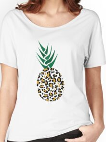 Leopard or Pineapple? Funny illusion Picture Women's Relaxed Fit T-Shirt