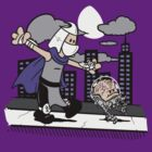 Krang and Shredder by worldcollider
