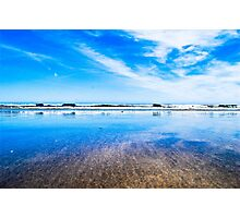 Waterford blue Photographic Print