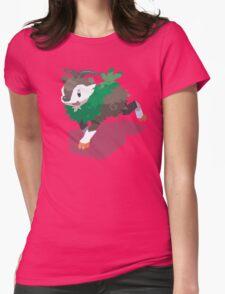 Cutout Skiddo Womens Fitted T-Shirt