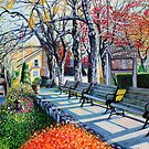 'MEMORIAL PARK, EARLY SPRING'  by Jerry Kirk