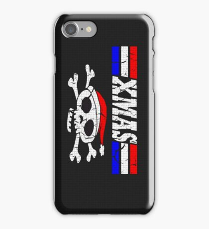 XMAS Bad Mofo Red White & Blue Christmas iPhone Case/Skin