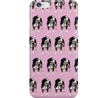 Baby Pink Pup Pattern iPhone Case/Skin