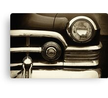 Cadillac Lights Canvas Print