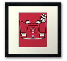 Transformers - Sideswipe Framed Print