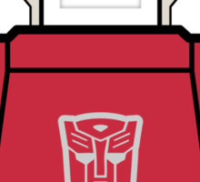 Transformers - Sideswipe Sticker