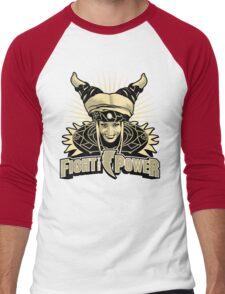 Fight the Power! Men's Baseball ¾ T-Shirt