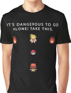 Dangerous to go Alone Graphic T-Shirt