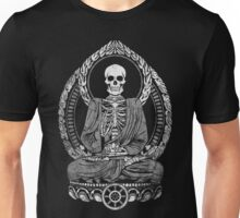 Starving Buddha Weathered Halftone Unisex T-Shirt