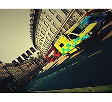 London Call Ambulance Photographic Print