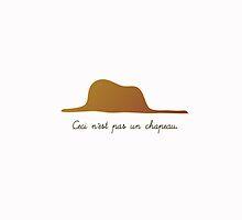 Ceci n'est pas un chapeau/ sans - iph by vermela