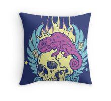 Skull Tee Throw Pillow
