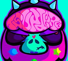Catrina Gutierrez Tsundere Brain by RebelTaxi
