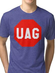 UAG Stop Codon Sign Tri-blend T-Shirt