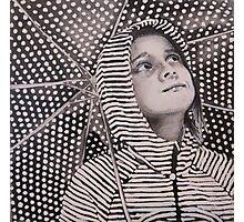 Rain Geometry Photographic Print