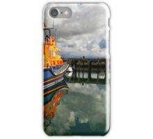 Always on standby - Newlyn lifeboat iPhone Case/Skin