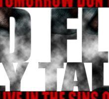 Billy Talent - Red Flag Lyrics Sticker