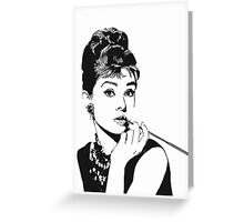 Moon River and Me Greeting Card