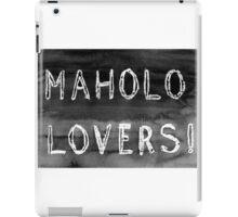 Mahalo Lovers  iPad Case/Skin