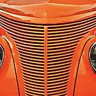Hot Rod Orange by Monte Morton