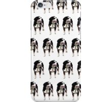 Baby Pink Pup White Pattern iPhone Case/Skin