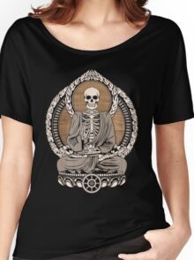 Starving Buddha Wood Grain Women's Relaxed Fit T-Shirt