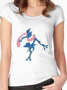 Greninja Women's Fitted Scoop T-Shirt