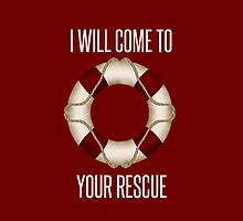 Rescue iPhone Case by ShelbMali