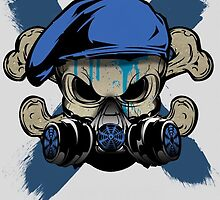 Commando Skull  by Outlaw009