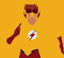 Kid Flash Minimalism  by BellaAlderton
