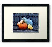 Harvest Rustic Framed Print