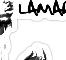 Kendrick Lamar Silhouette Shirt Sticker