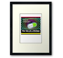 CHEW-Z The Trip of a Lifetime Framed Print