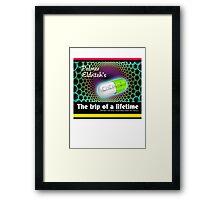CHEW-Z The Trip of a Lifetime Framed Print