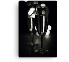 Cheers.... (bw) Canvas Print