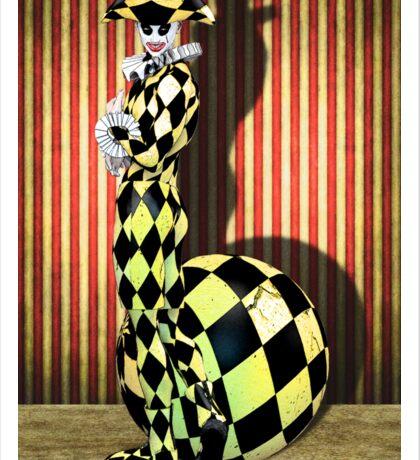 Harlequin Yellow Sticker
