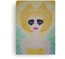 The Golden Fairy of Summer's End Canvas Print