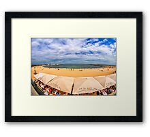 Barceloneta Beach Framed Print