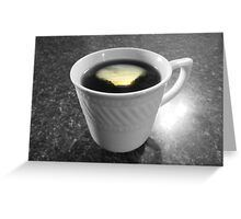 Morning Cup Greeting Card