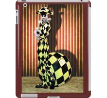 Harlequin Yellow iPad Case/Skin